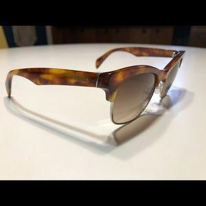 Authentic Prada unisex clubmaster sunglasses